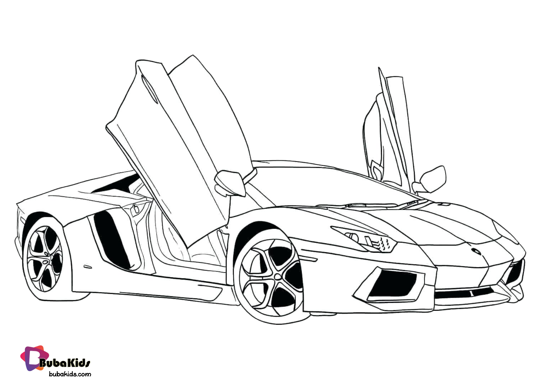 Free Download Super Car Coloring Pages For Kids Collection Of Cartoon Coloring Pages For T In 2020 Cars Coloring Pages Coloring Pages For Boys Race Car Coloring Pages