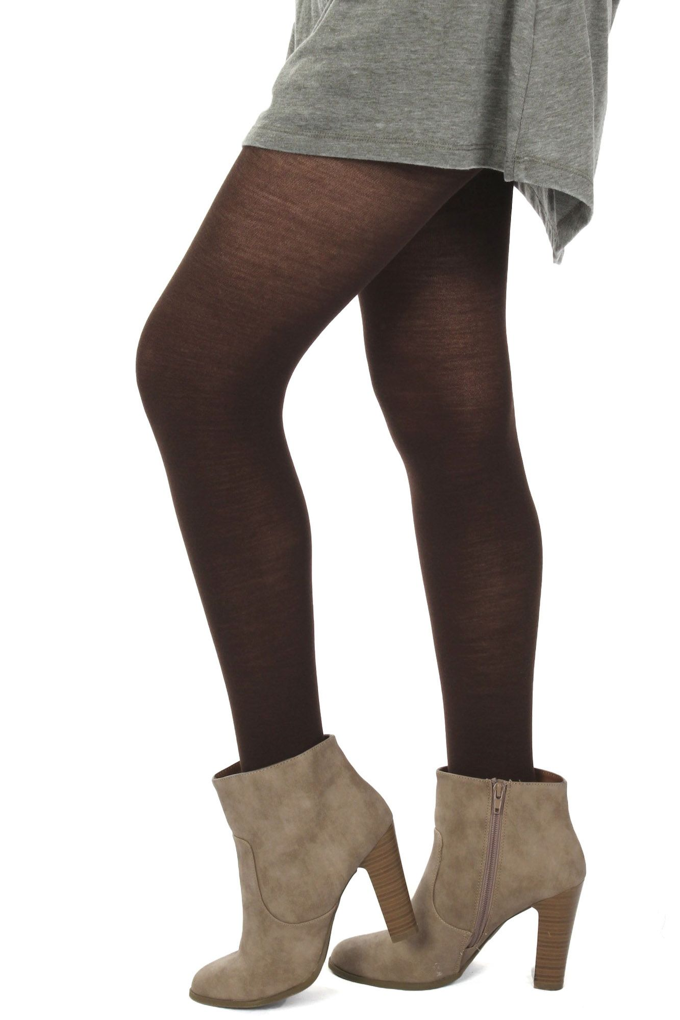4f66731aad22b Wool Tights Brown $24.99 #sophieandtrey #leggings #tights #bottoms  #accessories #pantyhose #wool #cashmere