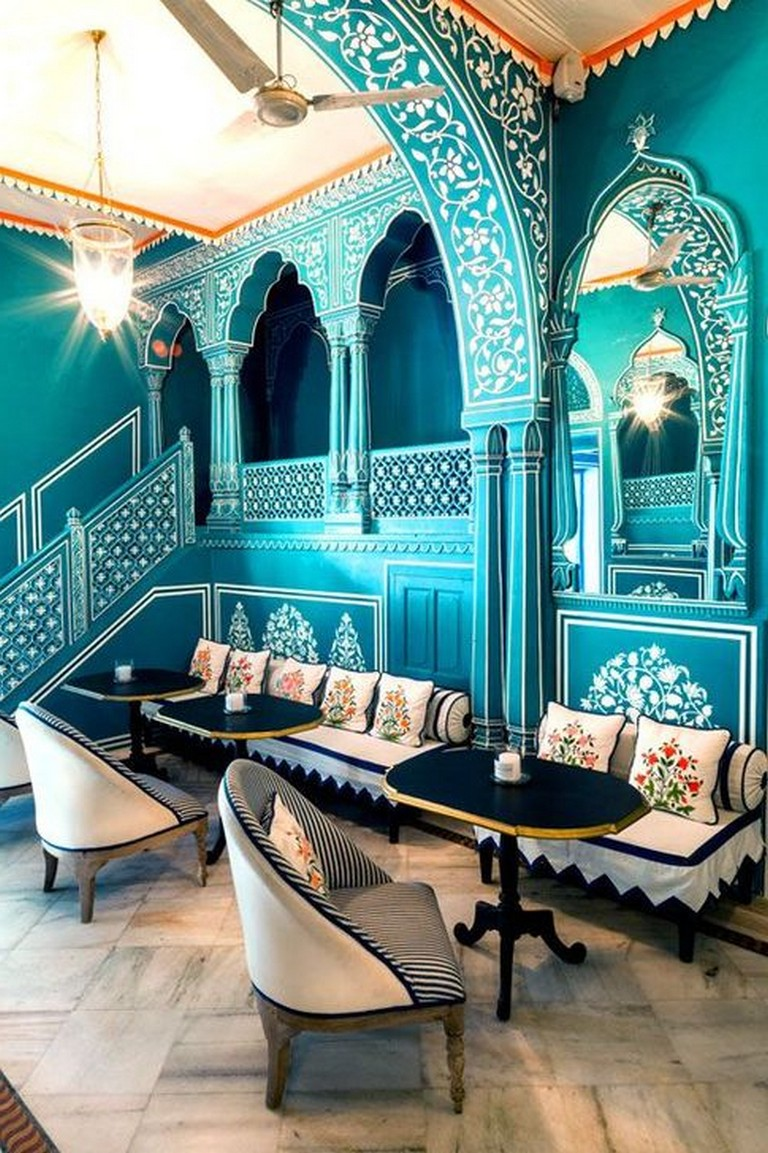 55+ Interesting Moroccan Dining Room Design You Should Try ...