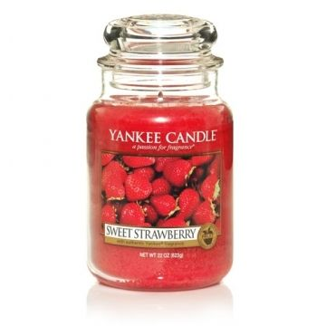 CINNAMON Yankee Candle STRAWBERRY GINGER COOKIE Fragrance Scent 20-22 OZ