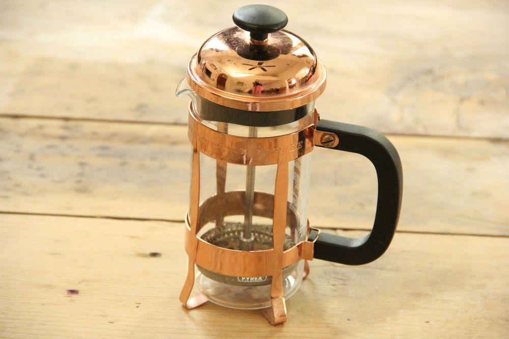 Coffee maker starbucks collectible copper pyrex glass