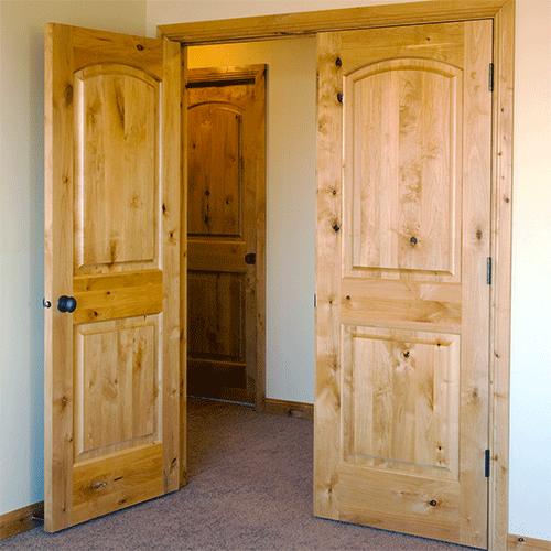 Knotty Alder Arch Top Interior Doors Photo Interior Doors
