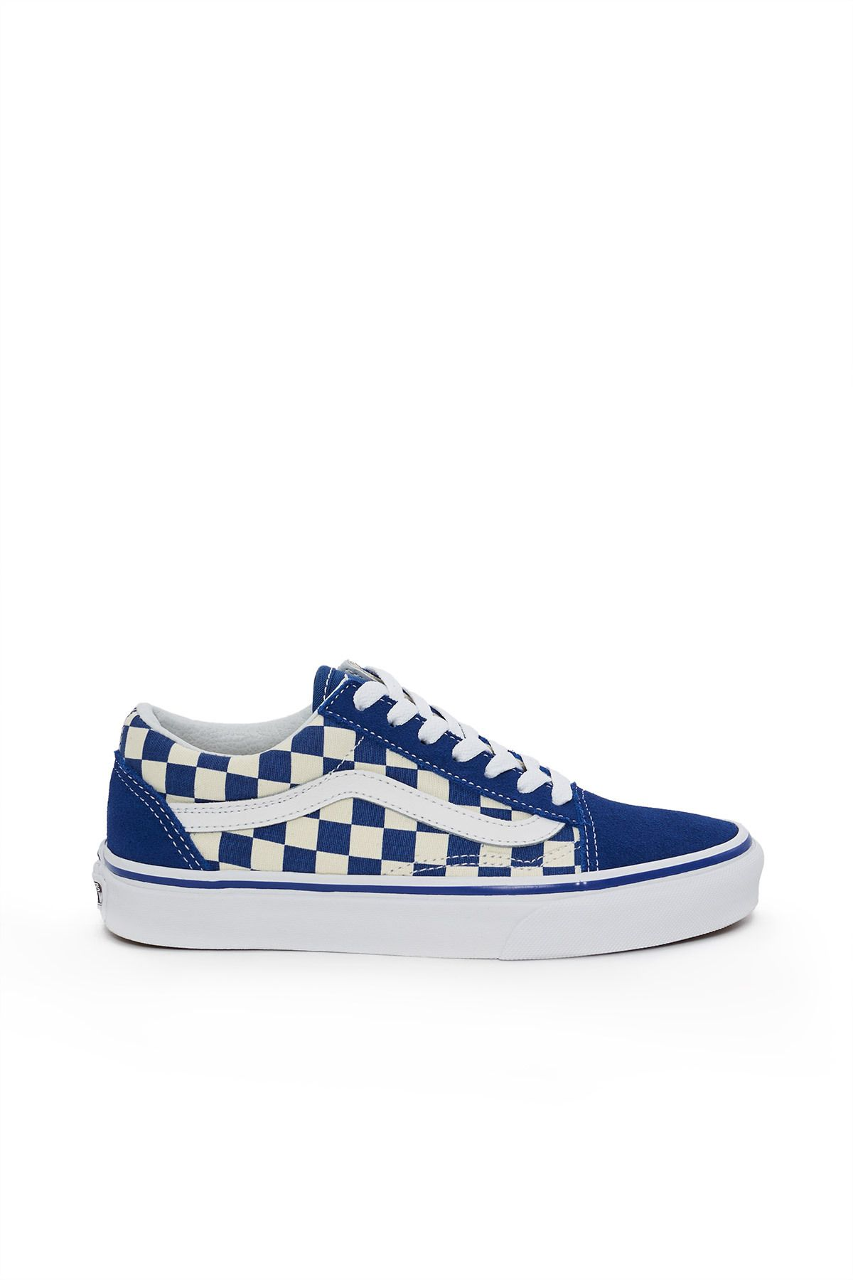 Vans, Primary Check Old Skool Sneaker