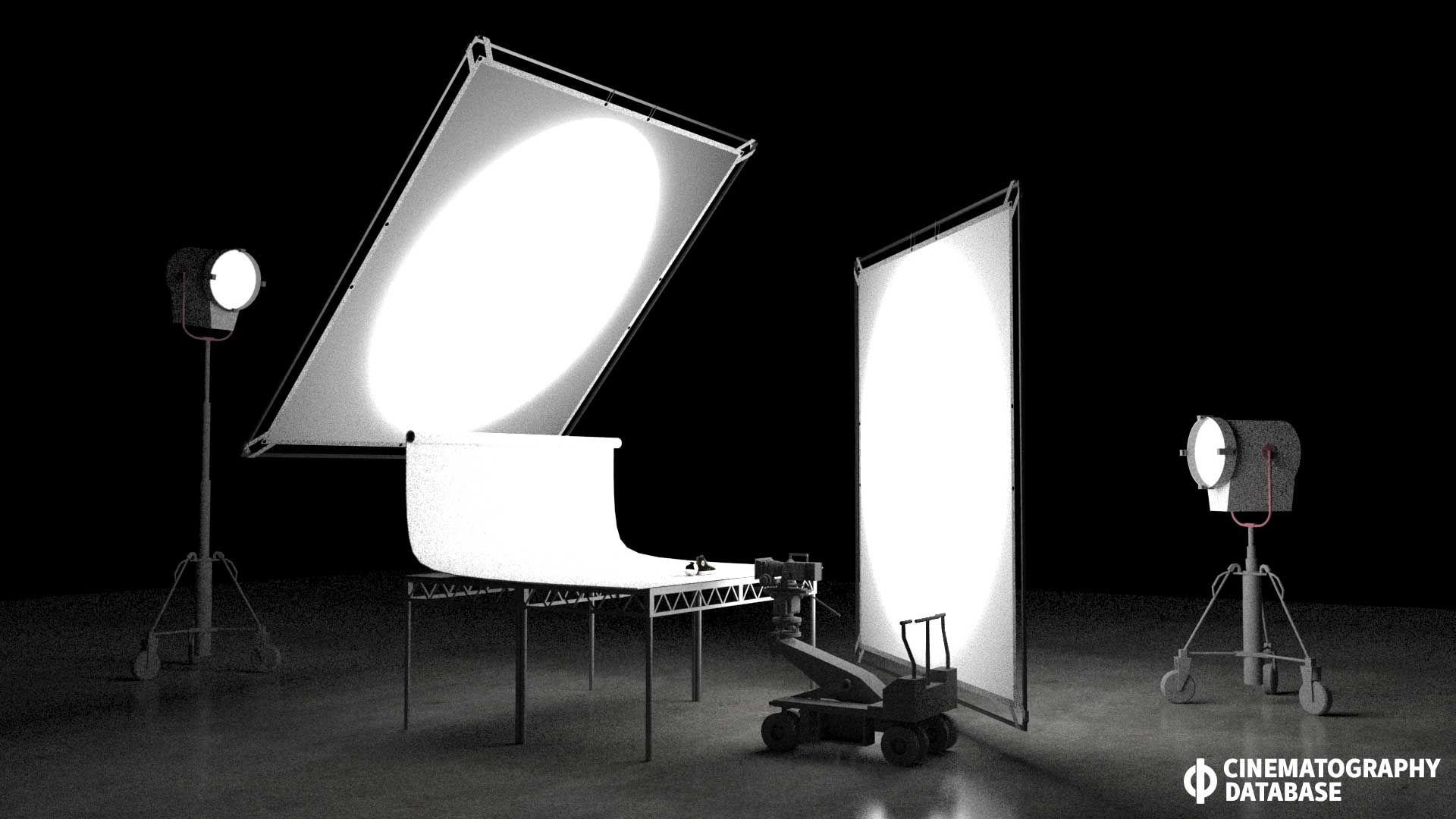 studio tabletop lighting cinematography database tutorials