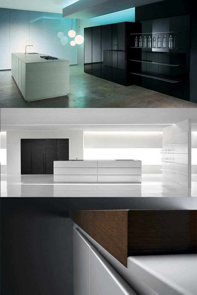 minimalistic kitchen design at its best – design based only on