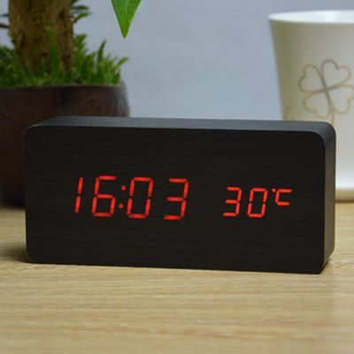 Upgrade LED Alarm Clockdespertador Temperature Sounds Control Display Electronic Desktop Digital Table Clocks