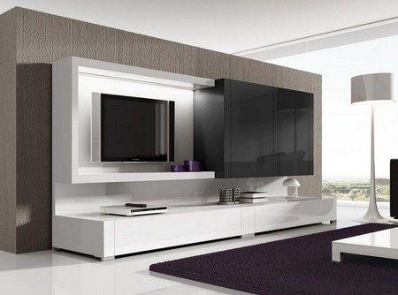 Muebles de tv modernos buscar con google centros de for Muebles de living