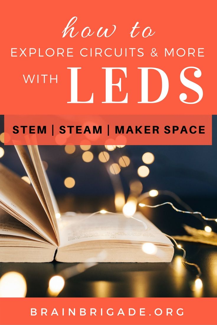 Diy Spring Led Card To Explore Smd Leds And Copper Tape Create A How Do You Make Parallel Circuit Perfect Beginner Activity For Introducing