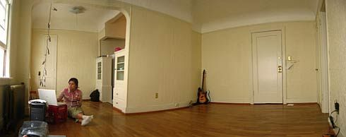 Want To Rent An Apartment? Notice This First : Simple Furniture Apartement  Removing With Classy White Wall Color Decoration