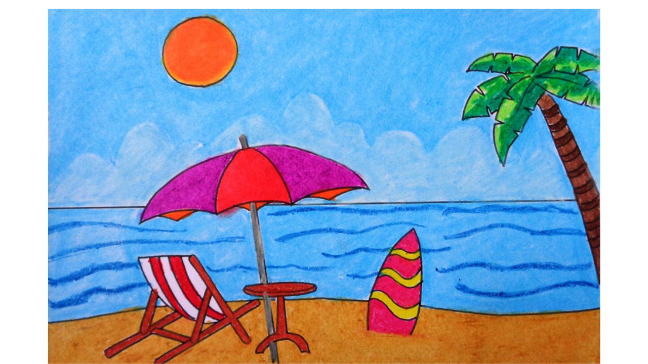 ca0c6e88ae247a9f88fd25bae87fe480 » Summer Season Drawing