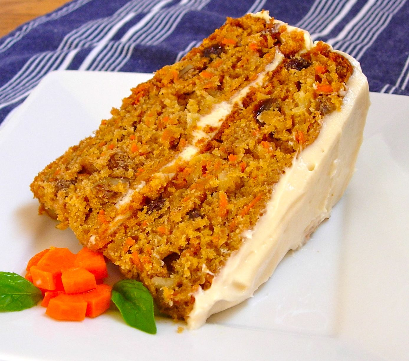 Raw Carrot Cake With Pineapple
