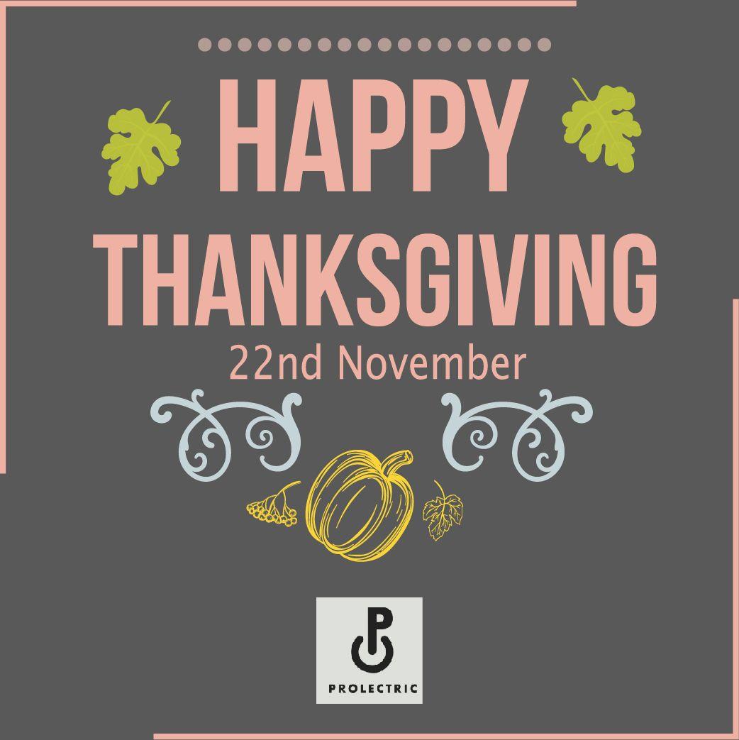 Happy Thanksgiving Happy Thanksgiving Happy Electrician