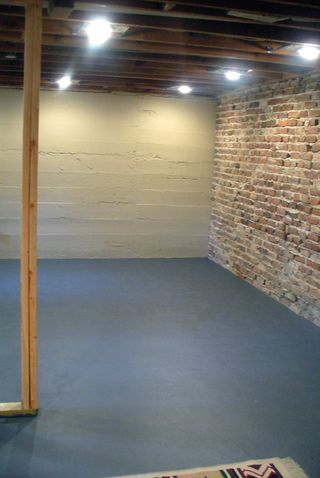 renovations painting the basement floor basement on paint for basement walls id=90679