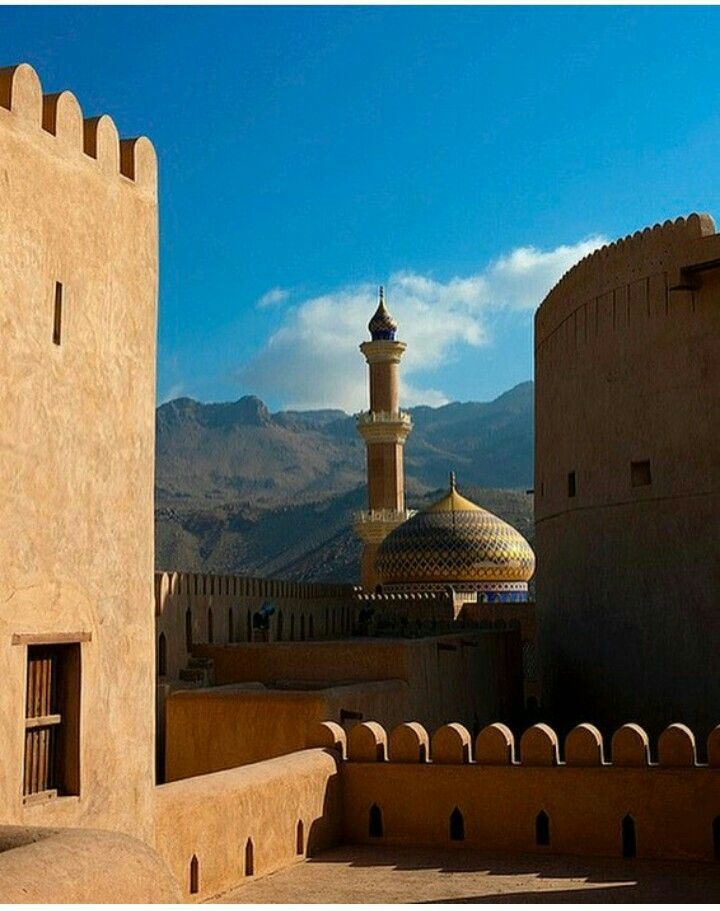 Mosque And View Credit Islamicthinking Mosque Oman Beautiful Mosques