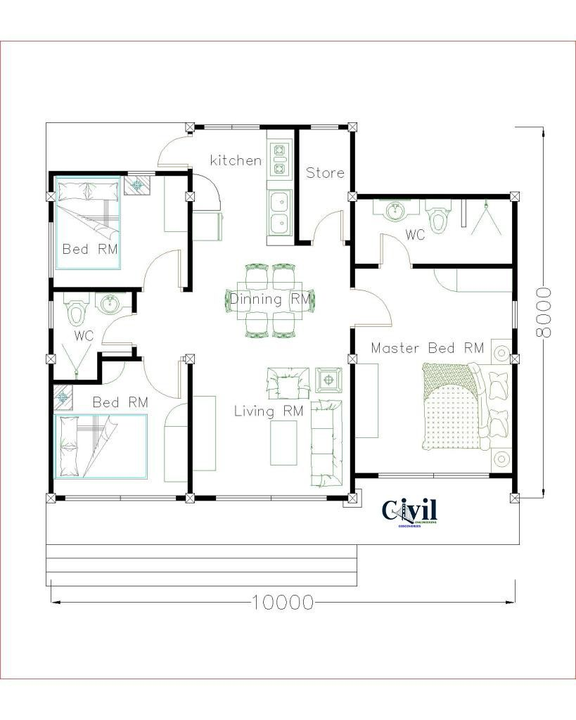 Beautiful Tiny House Plan Ideas For Your Inspiration To See More Read It House Plans Tiny House Plan Small House Plans