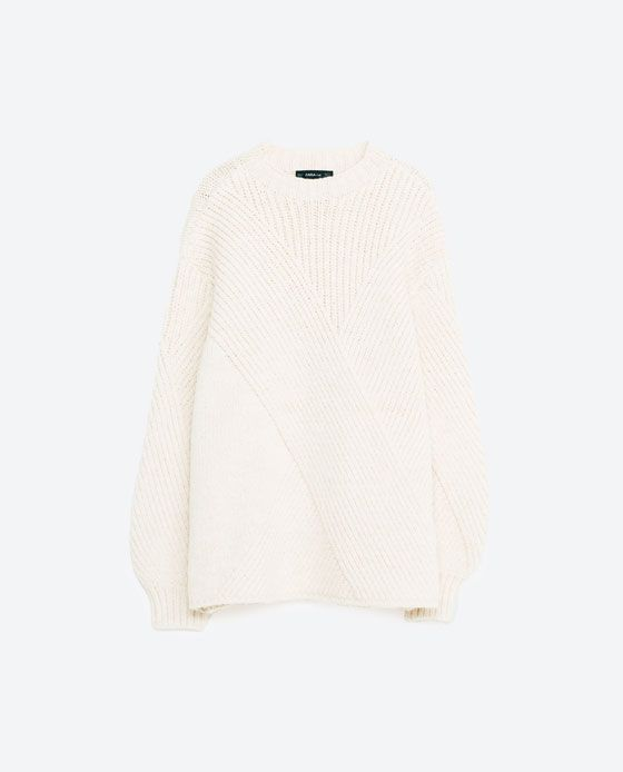 Image 8 of PUFF SLEEVE SWEATER from Zara