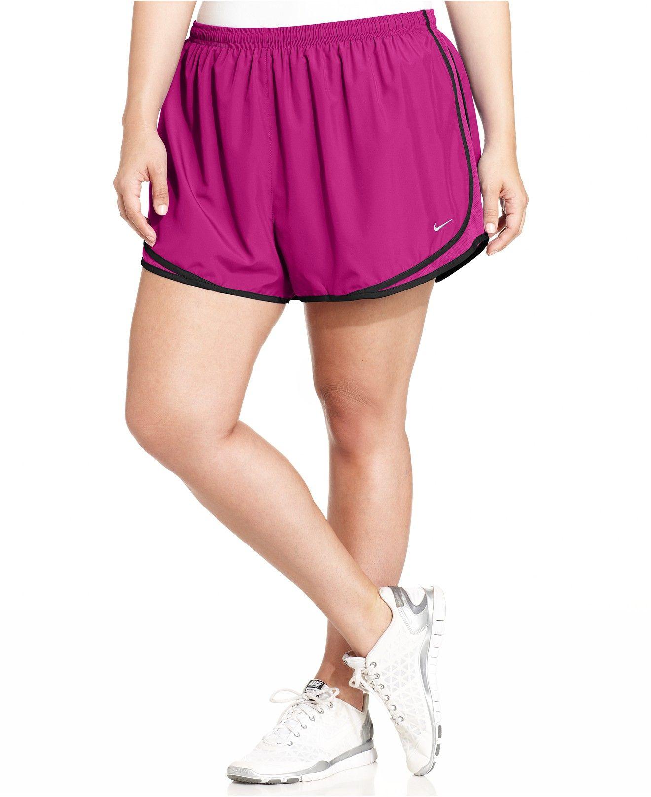 28ea0c24e0f Nike Plus Size Tempo Dri-FIT Track Shorts - Shorts - Plus Sizes - Macy s