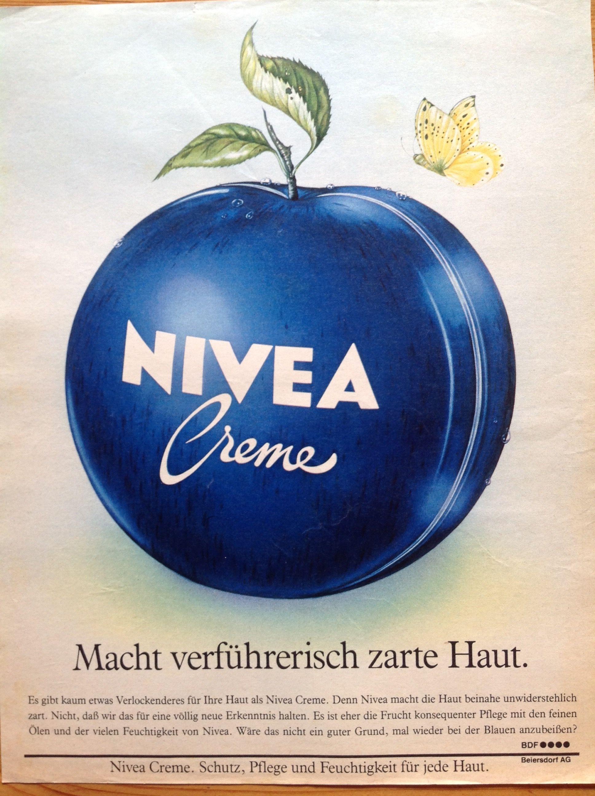 pin von amarinlafuente auf nivea | werbung, vintage, früchte