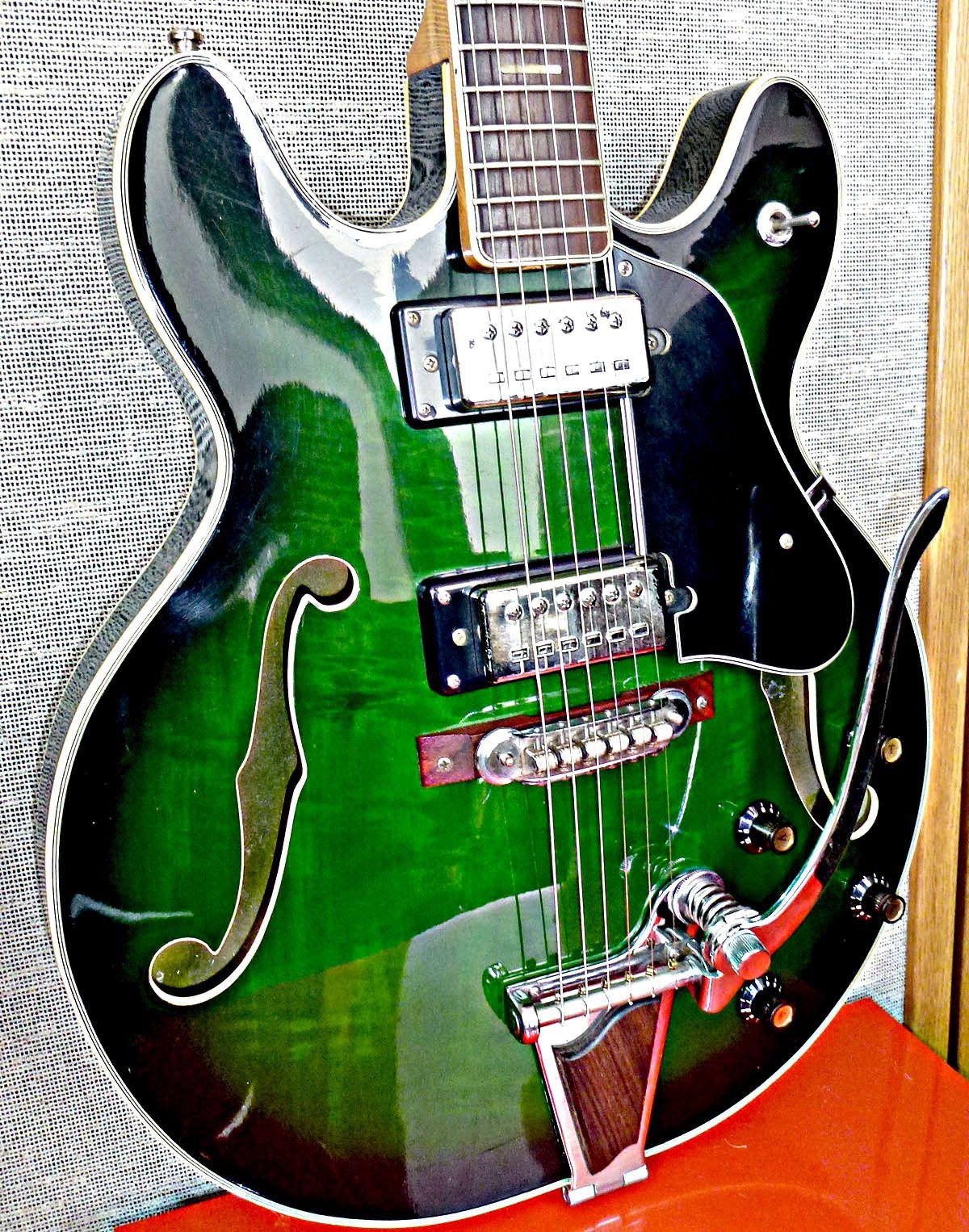 Vintage 1965 Gibson Es345 Wiring Repair Chicago Fret Works Guitar 1960 1970 S Univox 335 Electric Japan Guitars Rh Pinterest Com