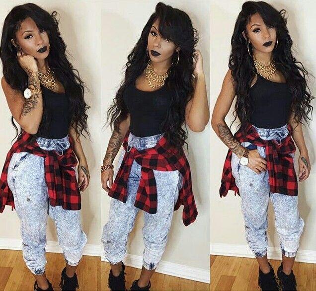 Black ghetto girl clothes