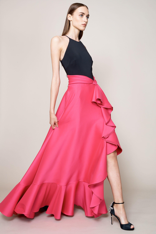 Badgley Mischka Resort 2018 Fashion Show | Falda, Ropa formal y ...