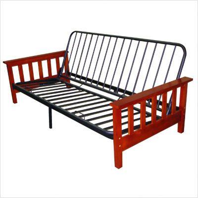 wood and metal futon frames | Wood Futon Frame | Futon frame ...