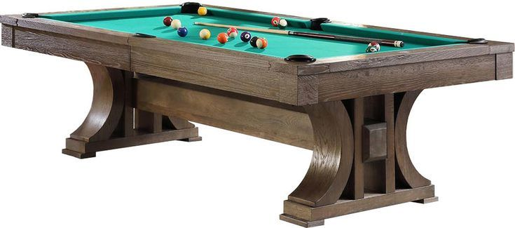 Boston 8 foot pool table brown oak pool table pool