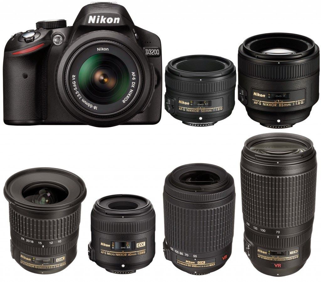 List Of Zoom And Prime Nikon D3200 Compatible Lenses Nikon D3200 Review And Best Bundle Photography Camera Camera Nikon Dslr Photography Tips