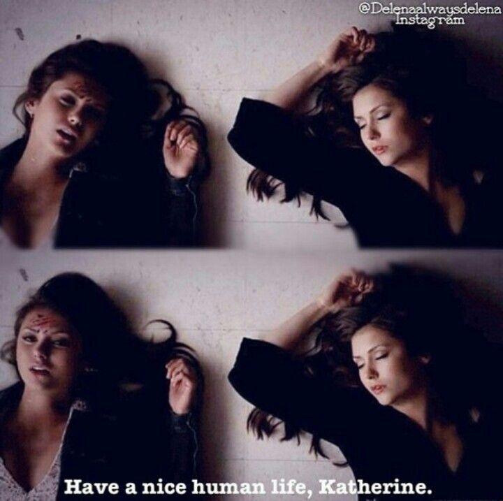 Woah! Didnt see that coming! What do you think about Katherine being a human? Comment below!