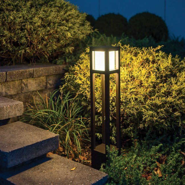 Tower 12v 120v 277v Bollard Wac Lighting Co Bollard Lighting Pathway Lighting Wac Lighting