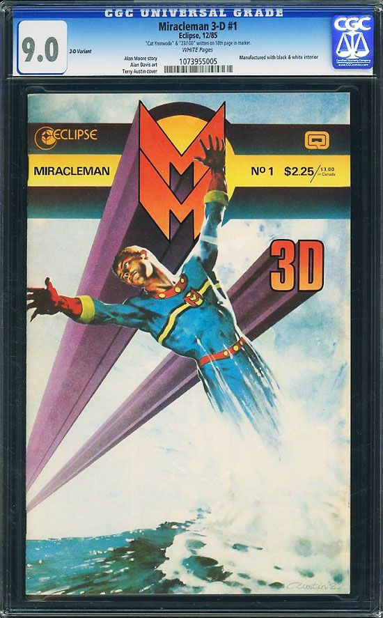 Super Rare Miracleman 3D #1 in 2D!  Click the pic and find out more...