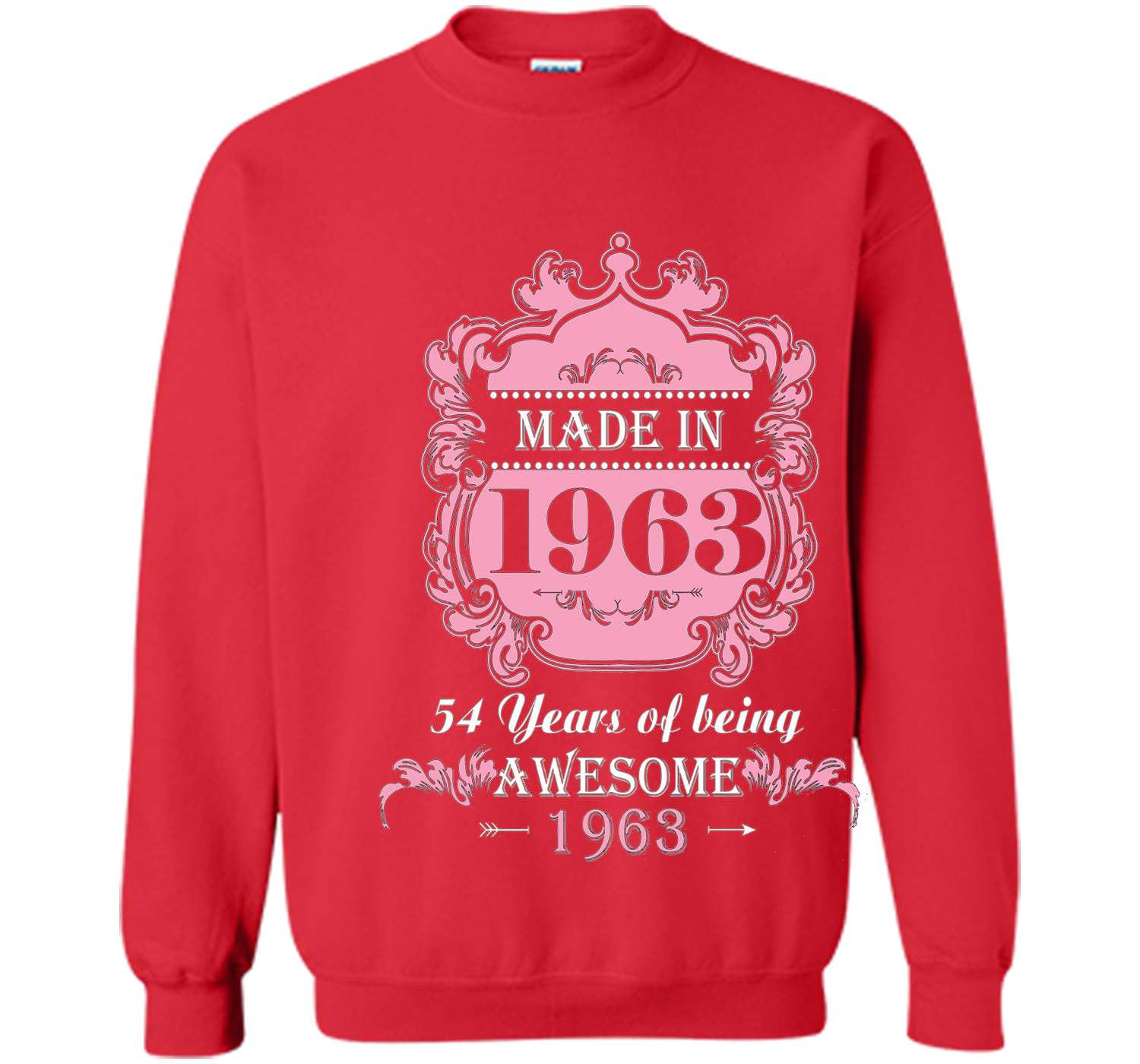 Made In 1963 T Shirt 54 Years Old 54th Birthday Gift