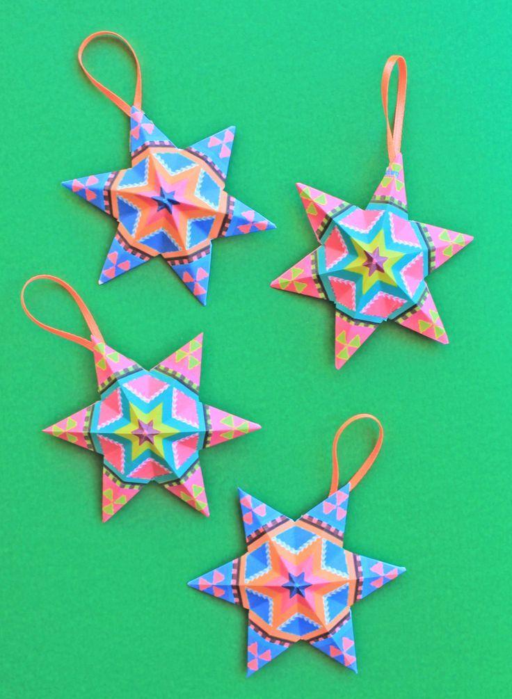 4 Diy Mexican Paper Craft Decorations Video Tutorials Templates
