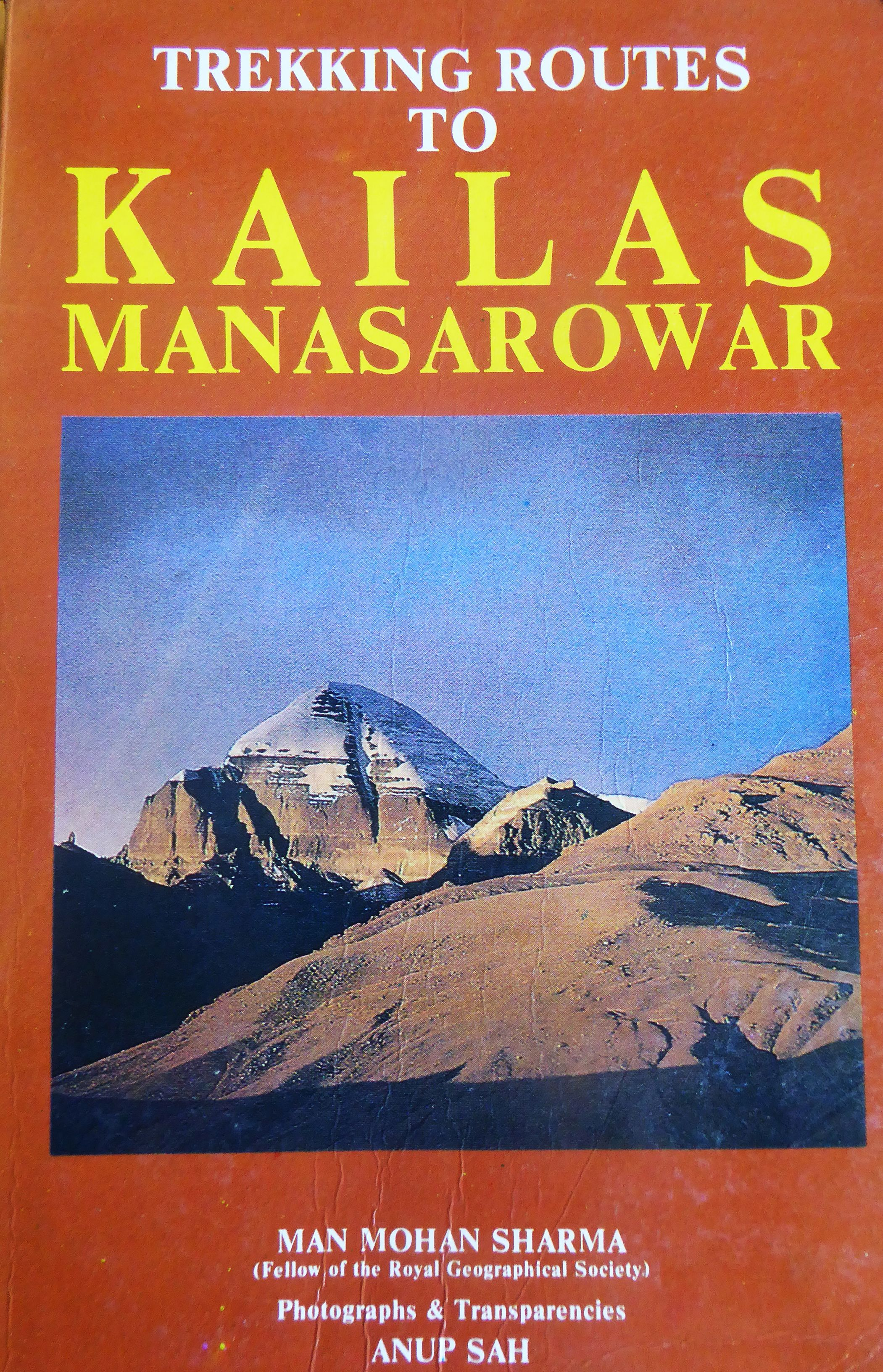 Trekking Routes to Kailas Manasarovar by Man Mohan Sharma