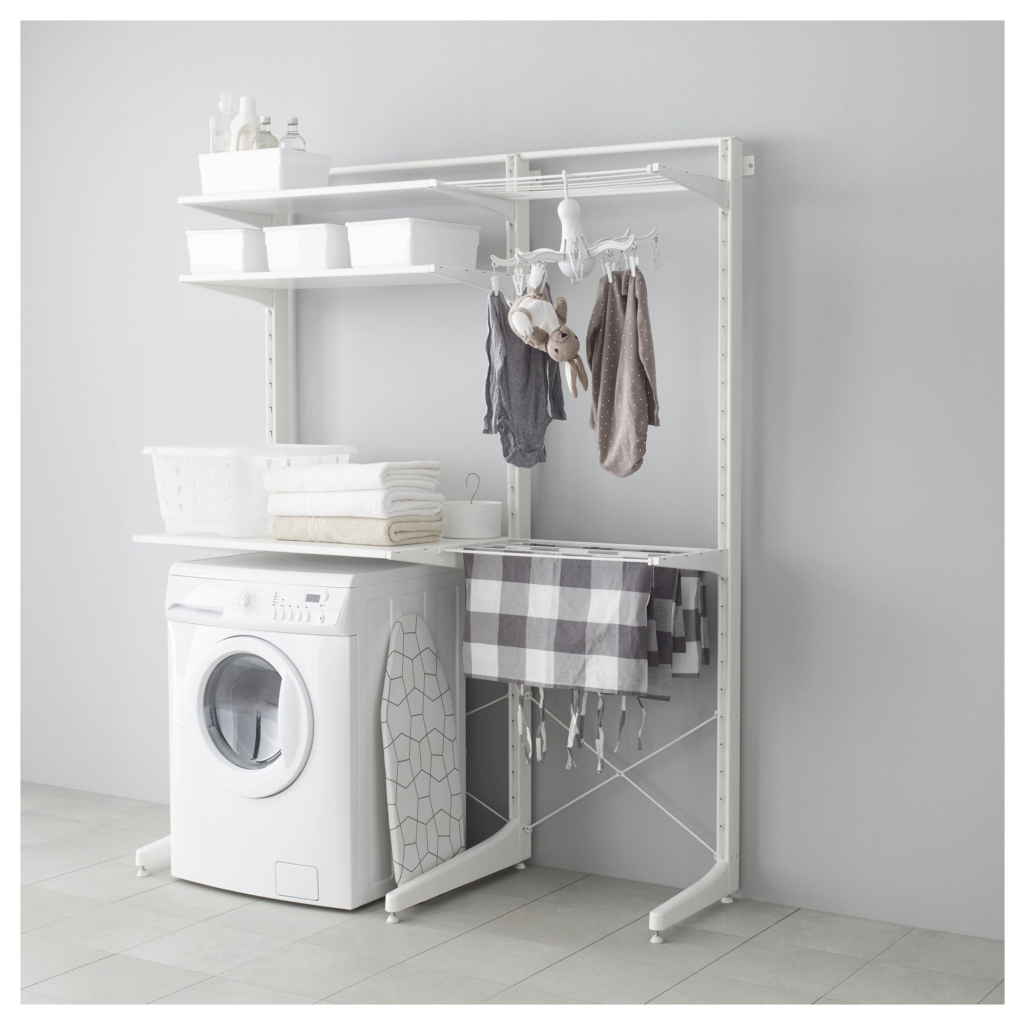 IKEA ALGOT Post foot drying rack The parts in the ALGOT series can be bined in many different ways and easily adapted to your needs and space