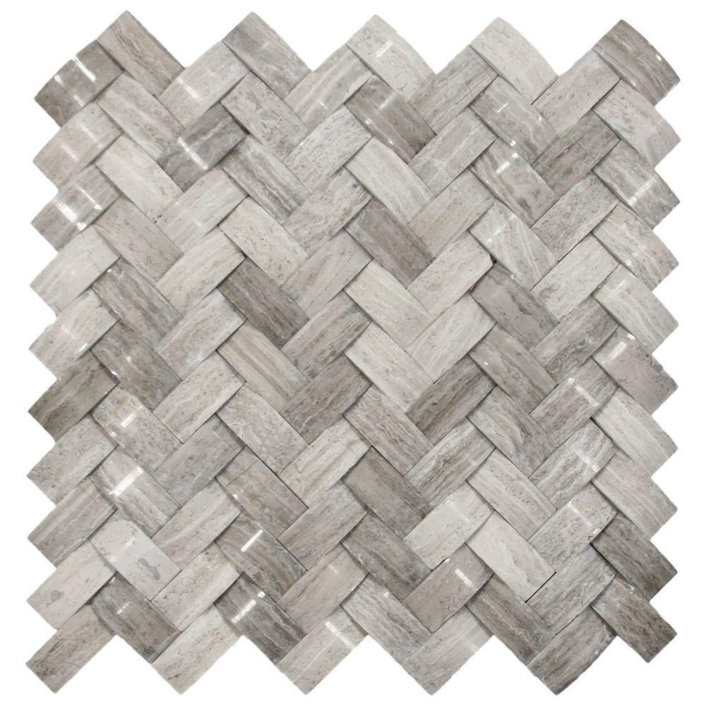 basket weave tile stone tiles