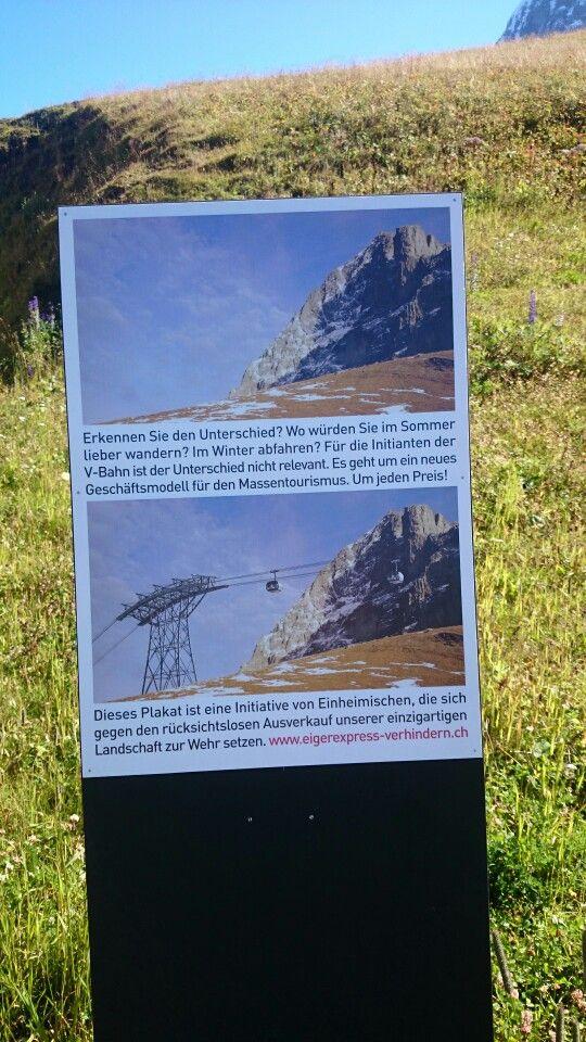 Dämlich, weitere Kabelbahnen geplant am Eiger