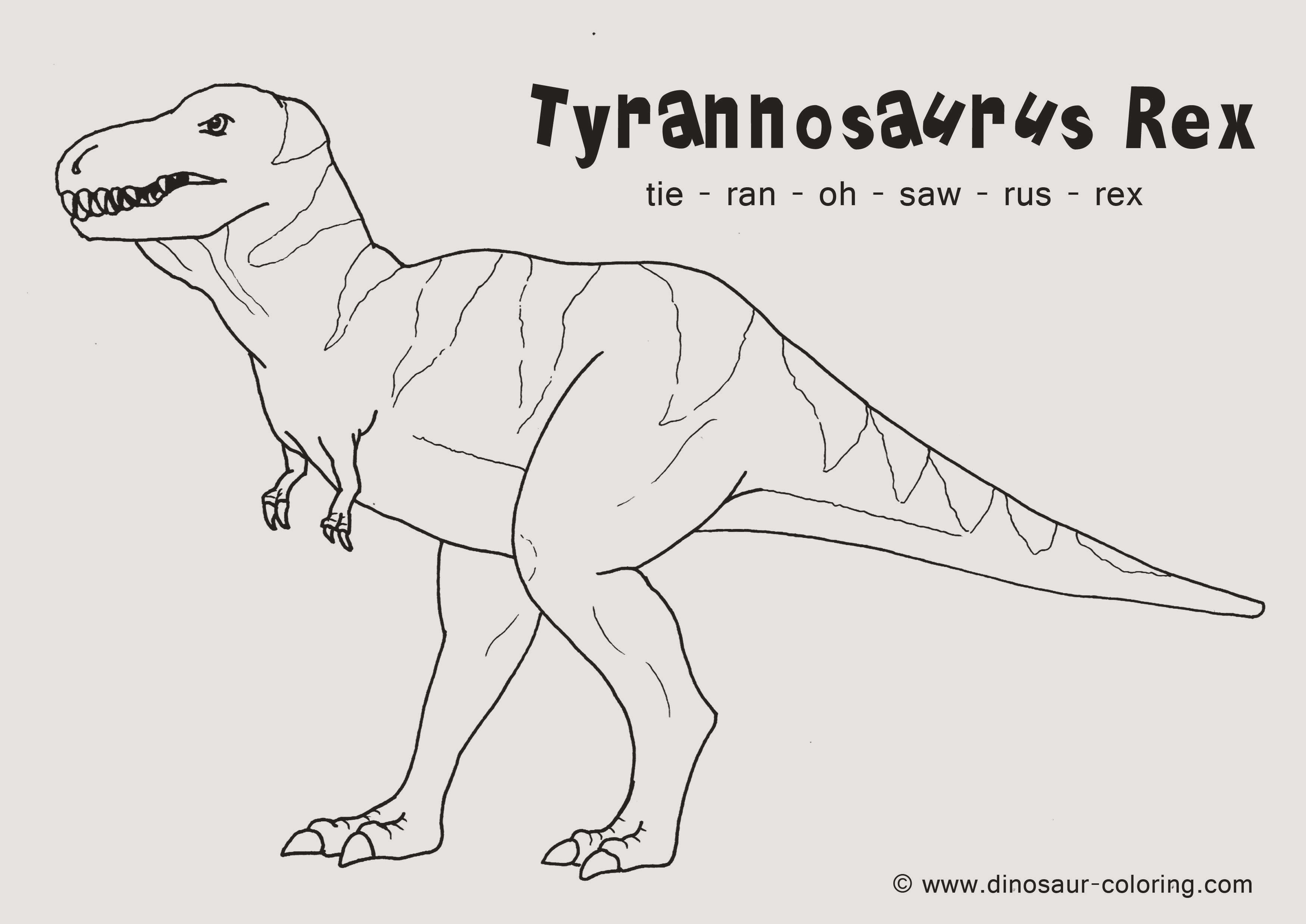 t rex ausmalbilder zum ausdrucken