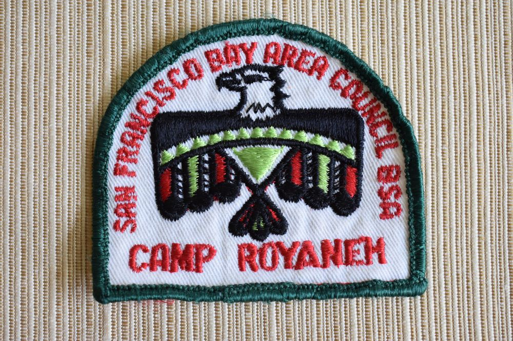 Vintage NEW 1970's Boy Scout Patch San Francisco Bay Area
