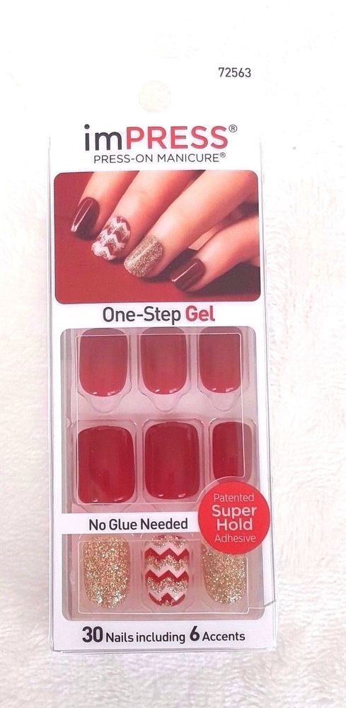Kiss ImPRESS Press-On Manicure #72563 SYMPHONY | Manicure, Kiss and ...