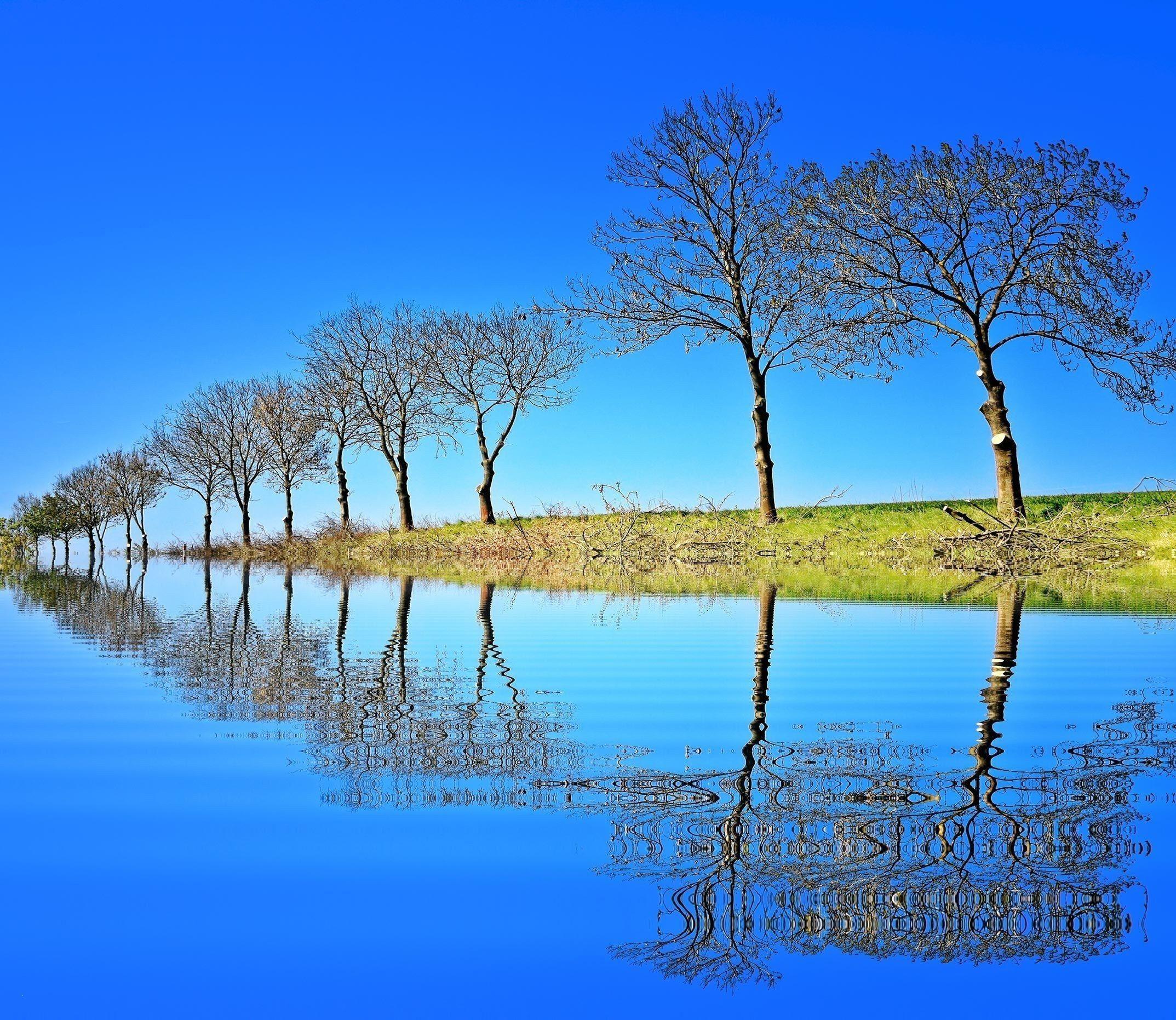 New Beautiful Nature Wallpaper Desktop Background Fotografi Alam Alam Pemandangan