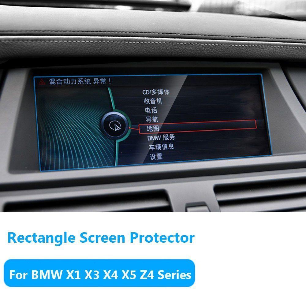 Ttcr Ii For Bmw X1 X3 X4 X5 X6 Z4 Series Navigation Display Screen Protector Foil Anti Explosion Touch Screen Protector Films 0 3mm 9h Screen Protector Display Screen