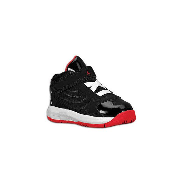 big sale e2b0c fc4fa Jordan Big Ups - Toddlers - Basketball - Shoes - Black White Varsity Red