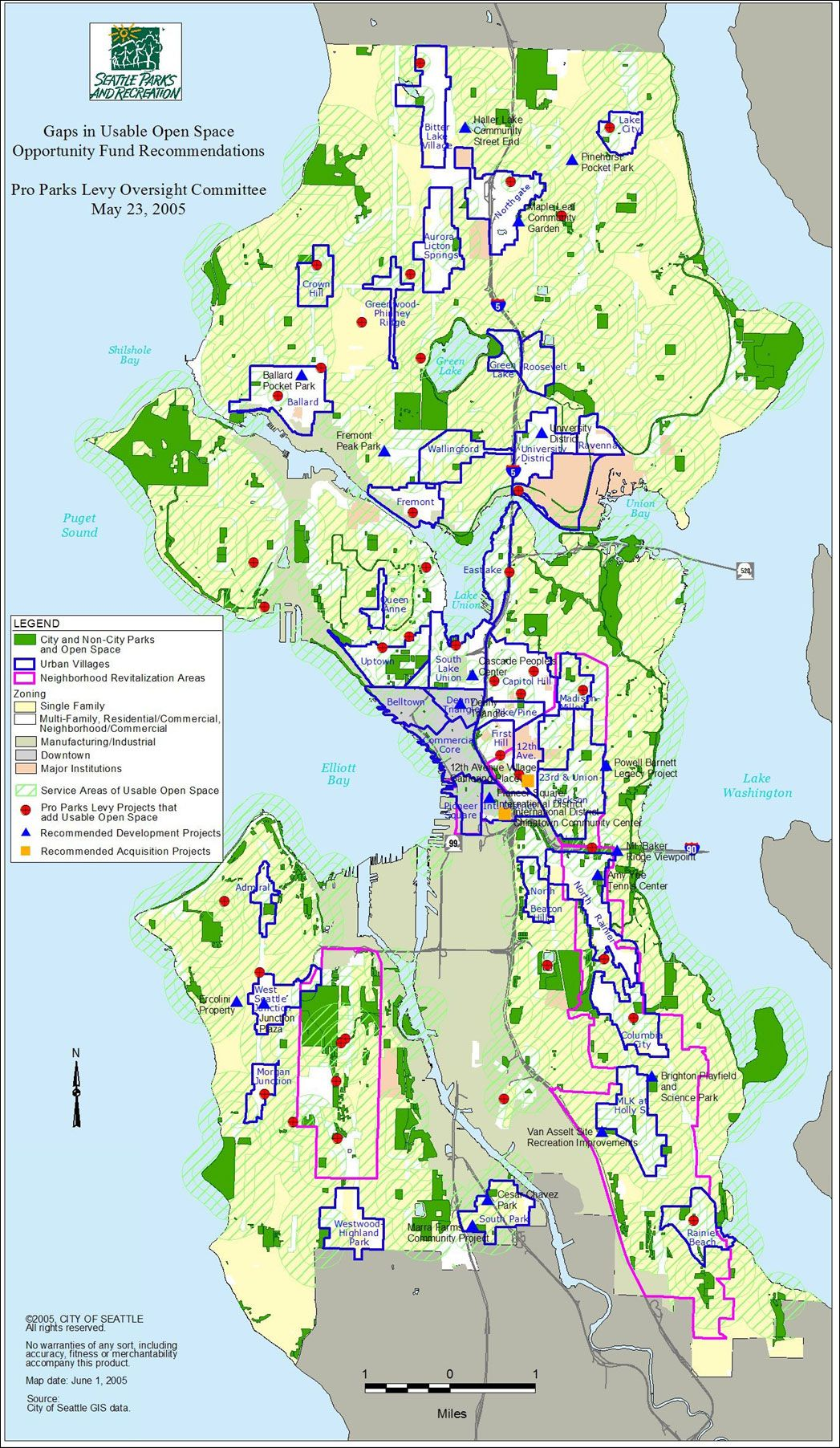 seattle parks map Google Search