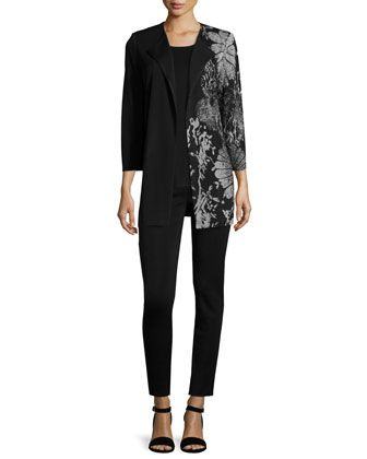 Jacket,+Tank+&+Pants,+Plus+Size+by+Misook+at+Neiman+Marcus.