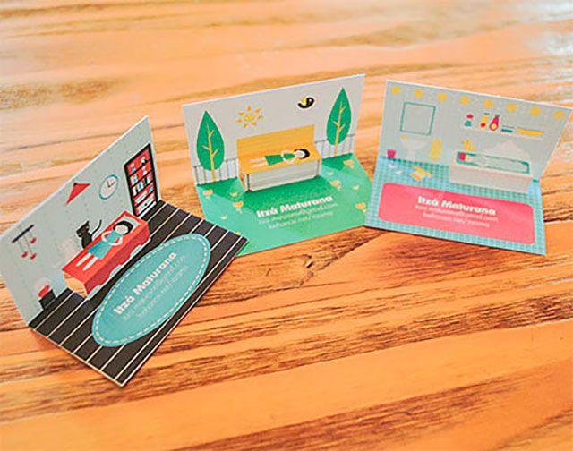 Beautiful Pop Up Business Cards 255 Creative Unique Business Cards Design Inspirat Design Business Card Ideas Business Cards Creative Business Card Design