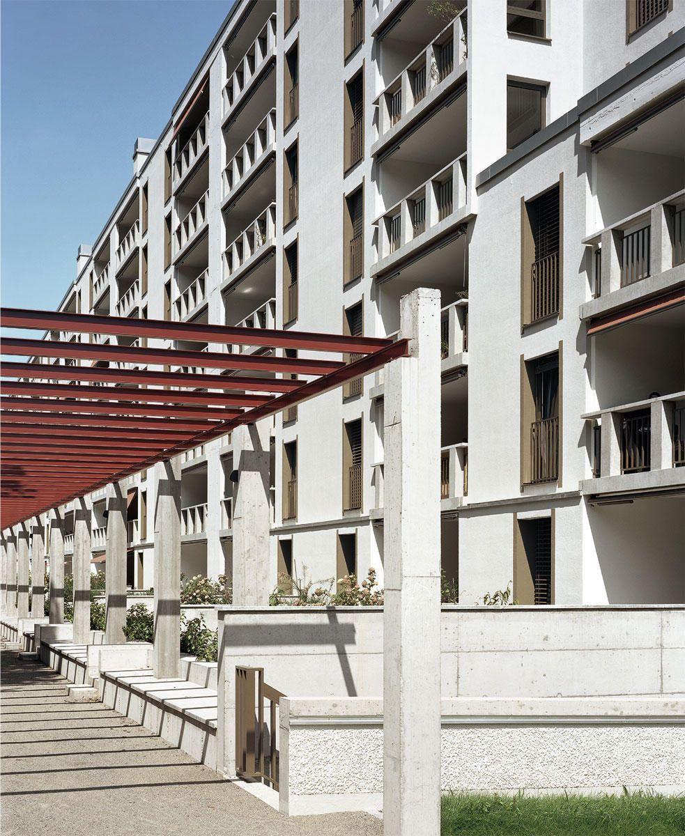 Peter Märkli Im Gut housing Zurich 3 arq Pinterest
