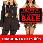Doorbuster Clothing & Accessories Sale