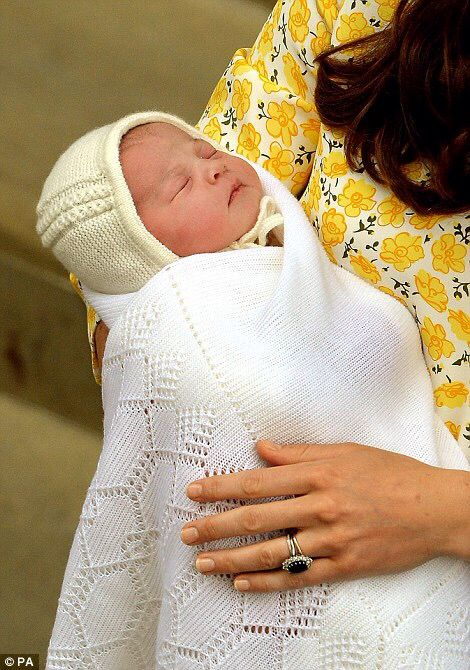 Little Princess of Cambridge, born 2nd May 2015 at 8:34 am