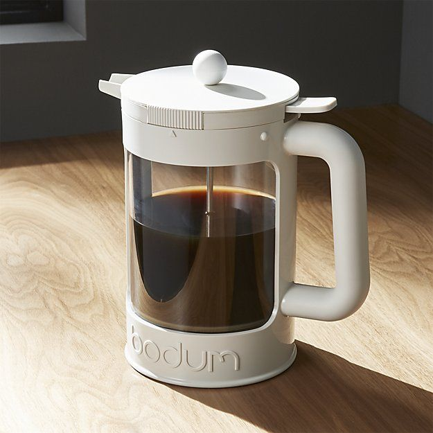 Cold brewing coffee makes the best tasting iced coffee and Bodum